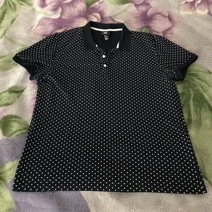 Polka dot collar shirt from H&M